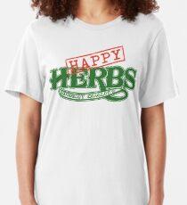 Happy Herbs Slim Fit T-Shirt