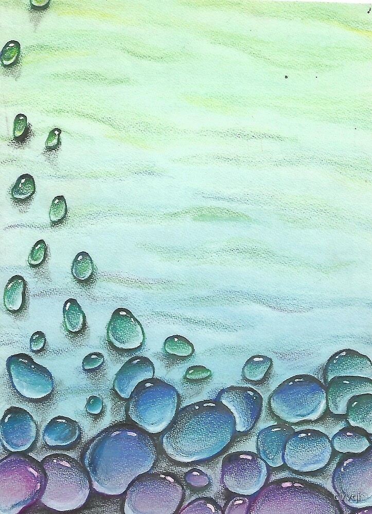 bubbles colored drops by cvvqi