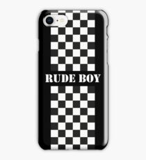 Rude Boy - Two Tone iPhone Case/Skin