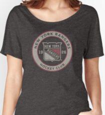New York Rangers Women's Relaxed Fit T-Shirt