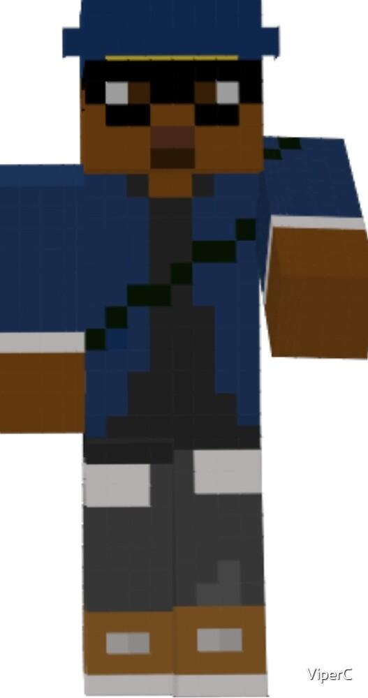 Minecraft Shirt by ViperC