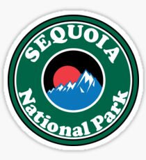 SEQUOIA NATIONAL PARK CALIFORNIA MOUNTAINS HIKE HIKING CAMP CAMPING Sticker