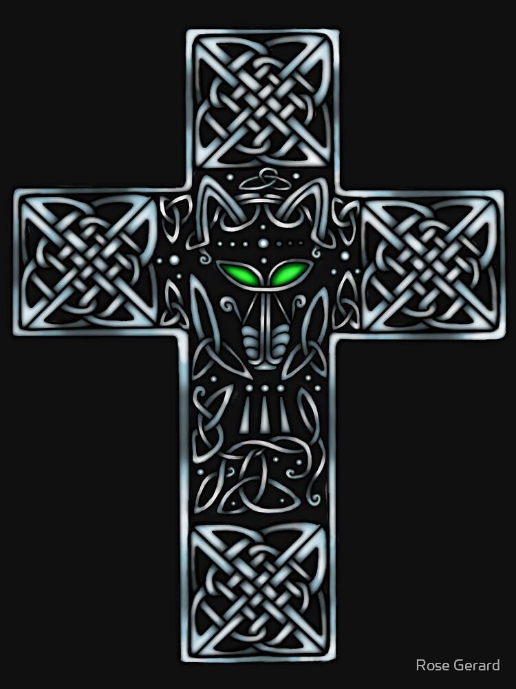 Wolf Cross by arkadyrose