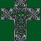 Wolf Cross by Rose Gerard