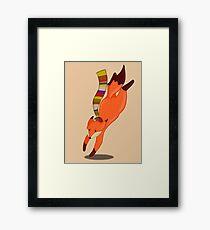 Doctor Fox Framed Print
