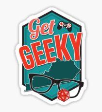 Get GeeKY Logo Sticker