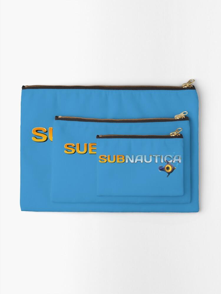Alternate view of Subnautica Logo Zipper Pouch