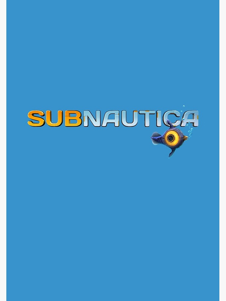 Quot Subnautica Logo Quot Spiral Notebook By Unknownworlds Redbubble