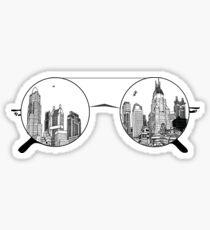 Sonnenbrille Sticker