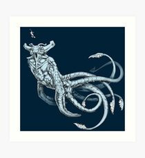Sea Emperor Transparent Art Print