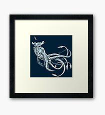 Sea Emperor Transparent Framed Print