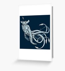 Sea Emperor Transparent Greeting Card