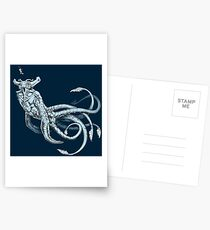 Sea Emperor Transparent Postcards