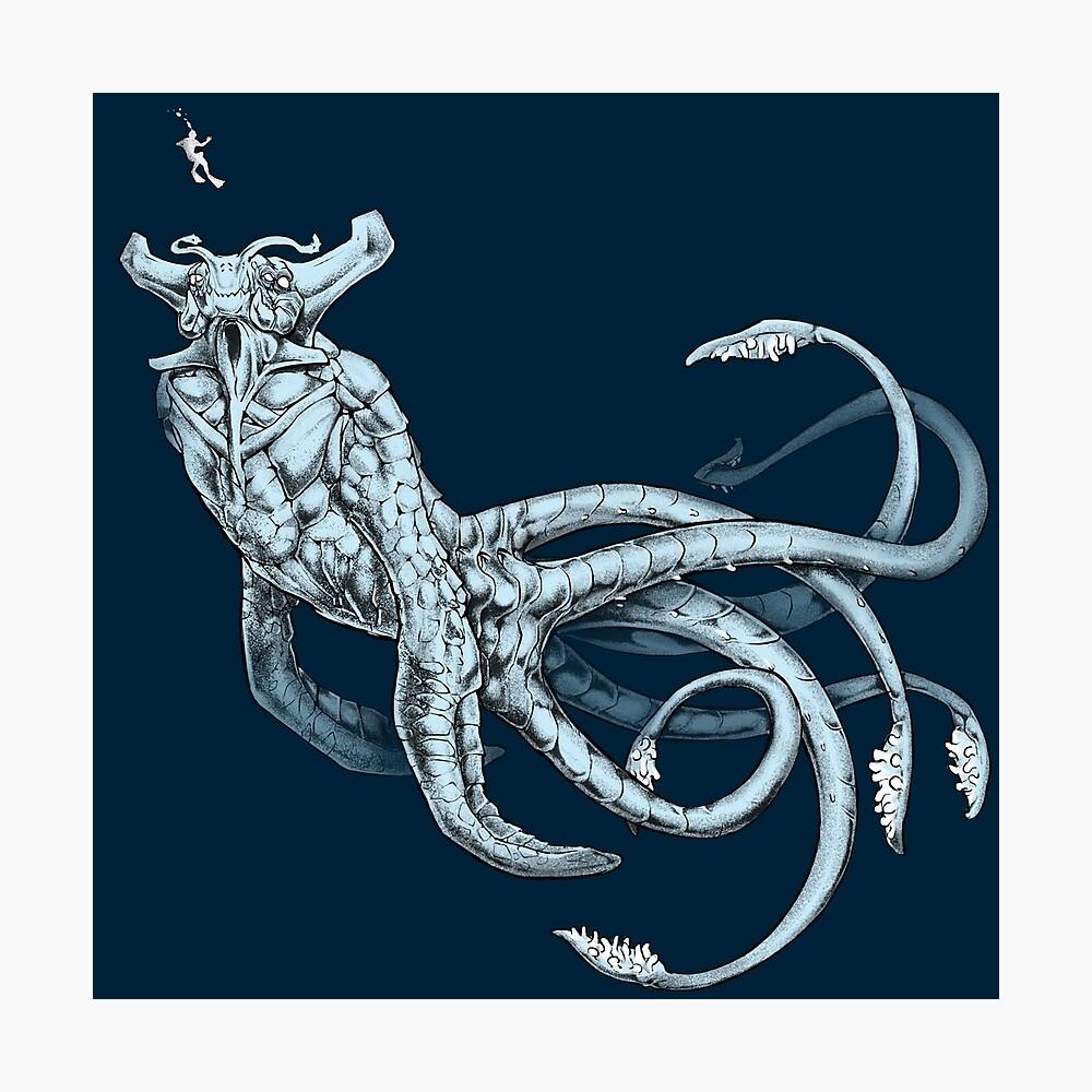 Sea Emperor Transparente Lámina fotográfica