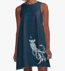 Sea Emperor Transparent A-Line Dress
