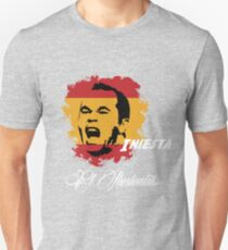 Spain Andres Iniesta Football World Cup 2014 T-Shirt