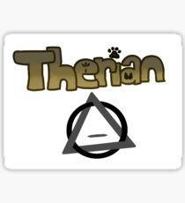Therian Sticker
