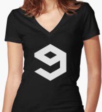 neingag Women's Fitted V-Neck T-Shirt