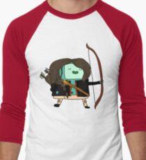 BMO Katniss  Men's Baseball ¾ T-Shirt