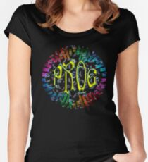 PROG RAINBOW KEYS Women's Fitted Scoop T-Shirt
