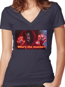Sho'Nuff Women's Fitted V-Neck T-Shirt