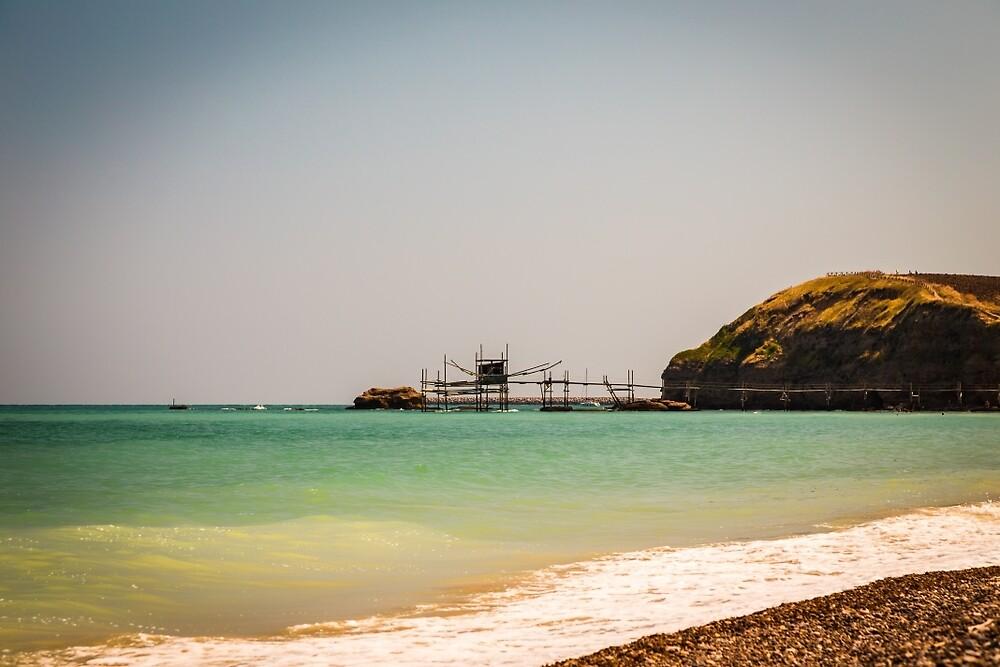 italian seaside in a summer day by zakaz86