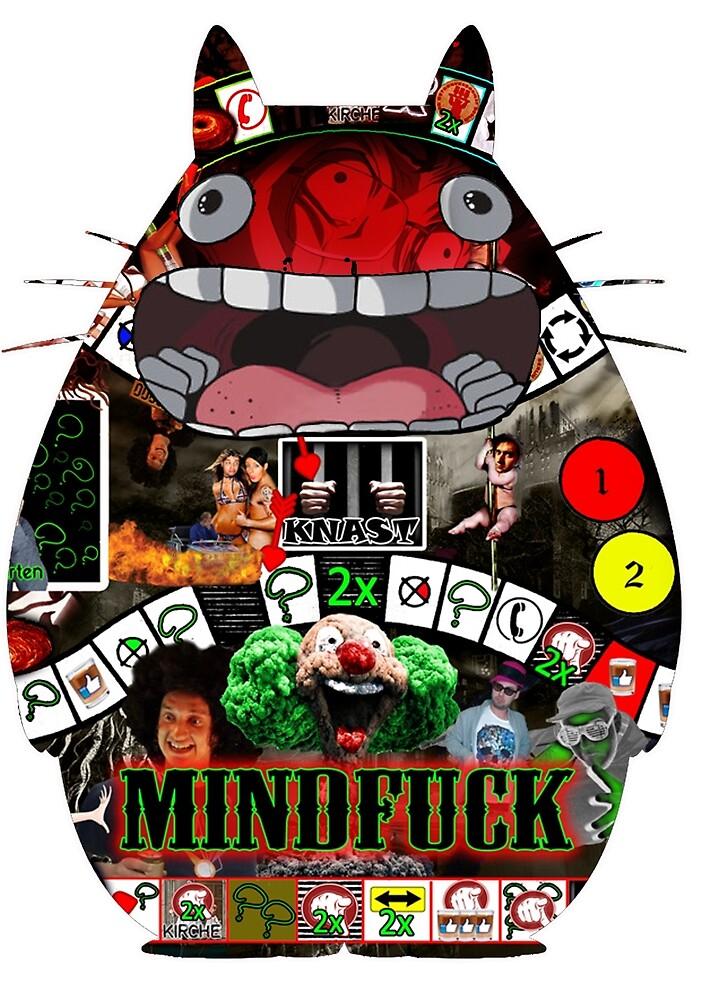 Totoro Mindfuck by IngisKhan