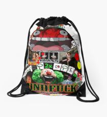 Totoro Mindfuck Drawstring Bag