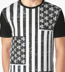 Contaminated States of America - Upright Citizen Graphic T-Shirt