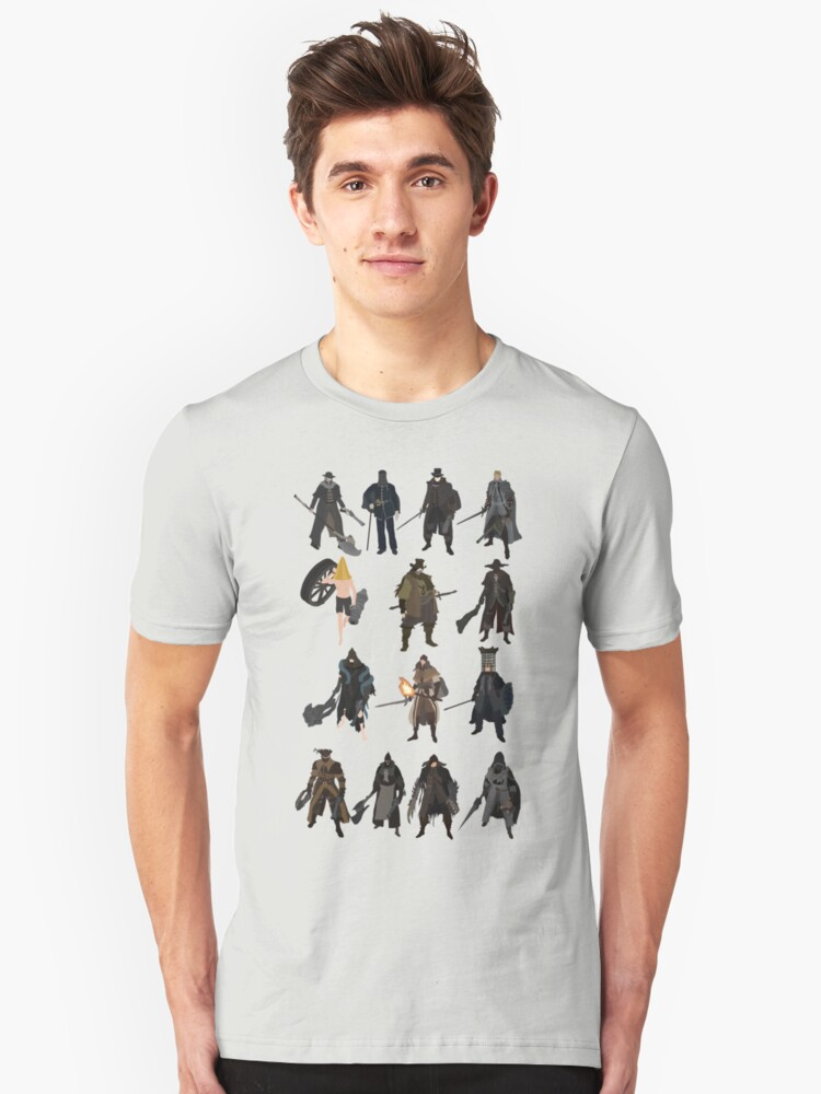 Bloodborne - The Old Hunters Unisex T-Shirt Front