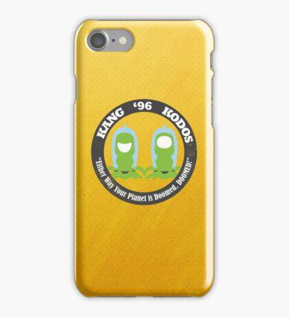 Vote Kang - Kodos '96 iPhone Case/Skin