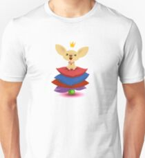 Chihuahua princess and the pea. Unisex T-Shirt