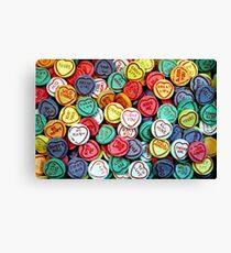 Multi-coloured emotions Canvas Print