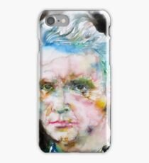 MARIE CURIE - watercolor portrait iPhone Case/Skin
