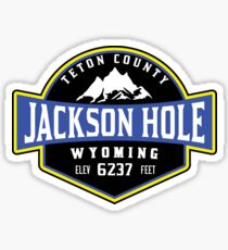 JACKSON HOLE WYOMING Mountain Skiing Ski Snowboard Snowboarding 4 Sticker