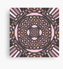 Complex geometric abstract Canvas Print