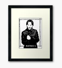 The Matrix 4 Framed Print
