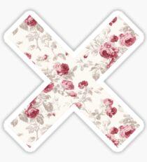 The XX Logo (Floral Pattern) Sticker