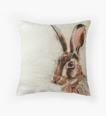 Daniel The Hare Throw Pillow
