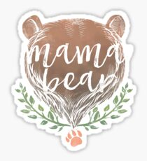 Pegatina MAMA BEAR