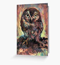Orly Owl Grußkarte