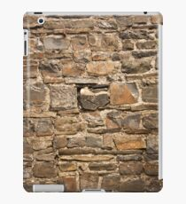 Old Welsh Slate Wall - Castle Ruins iPad Case/Skin