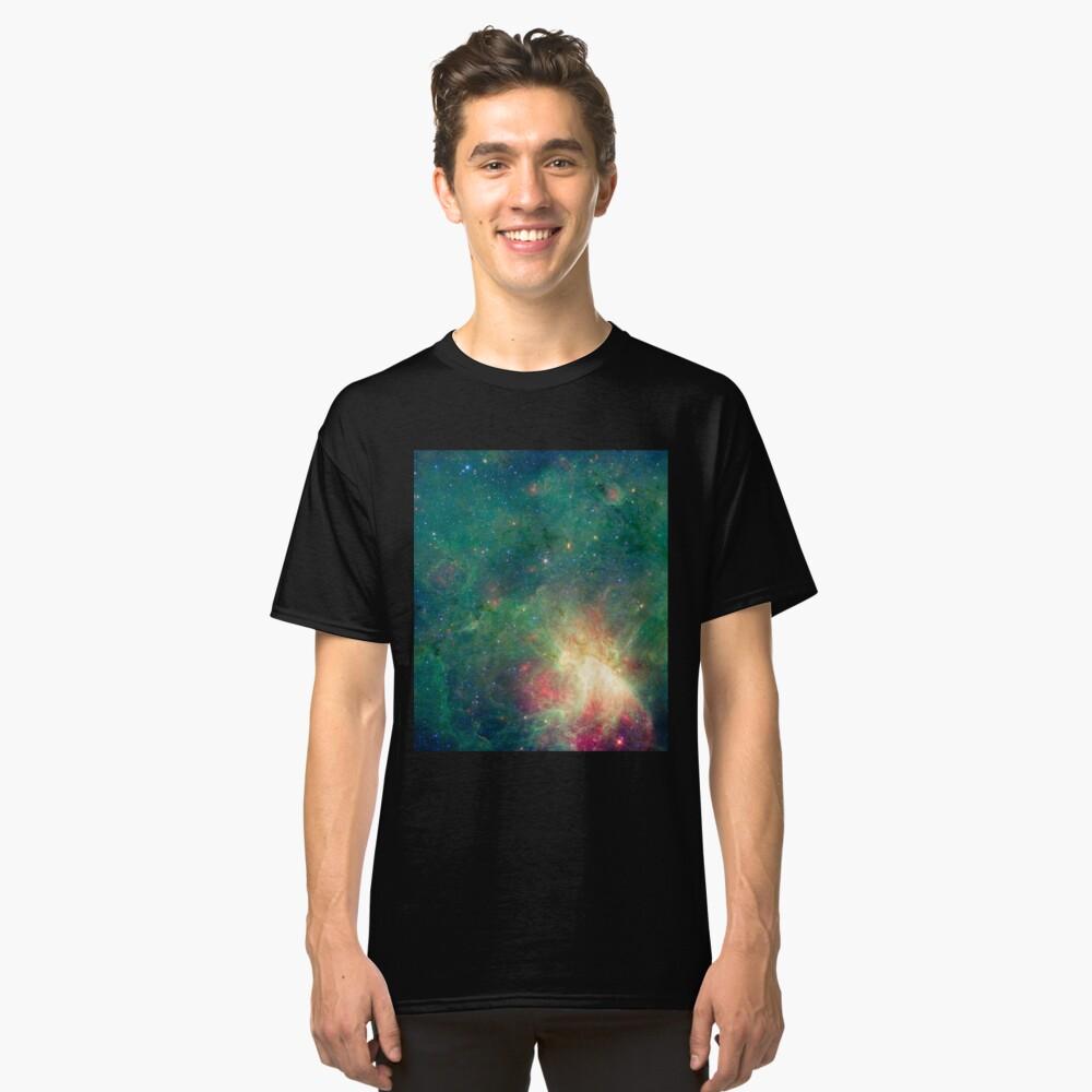 Abkürzung, Omega-Nebel, Weltraum, Astrophysik, Astronomie Classic T-Shirt