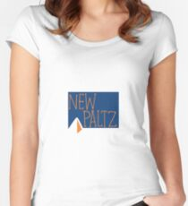 new paltz Women's Fitted Scoop T-Shirt