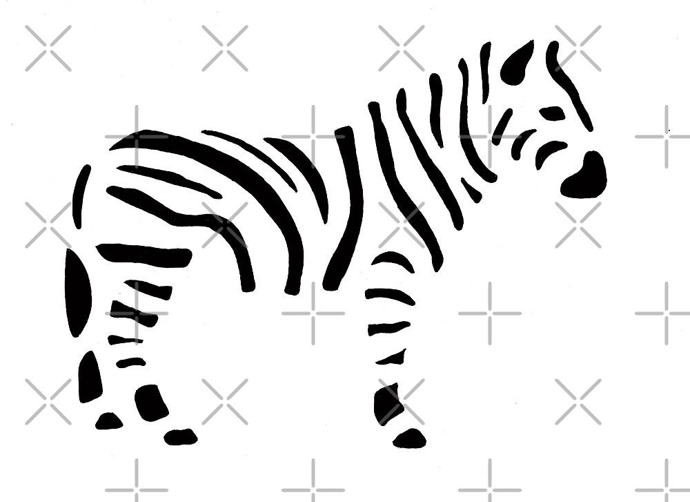 Zebra by BlackDevil