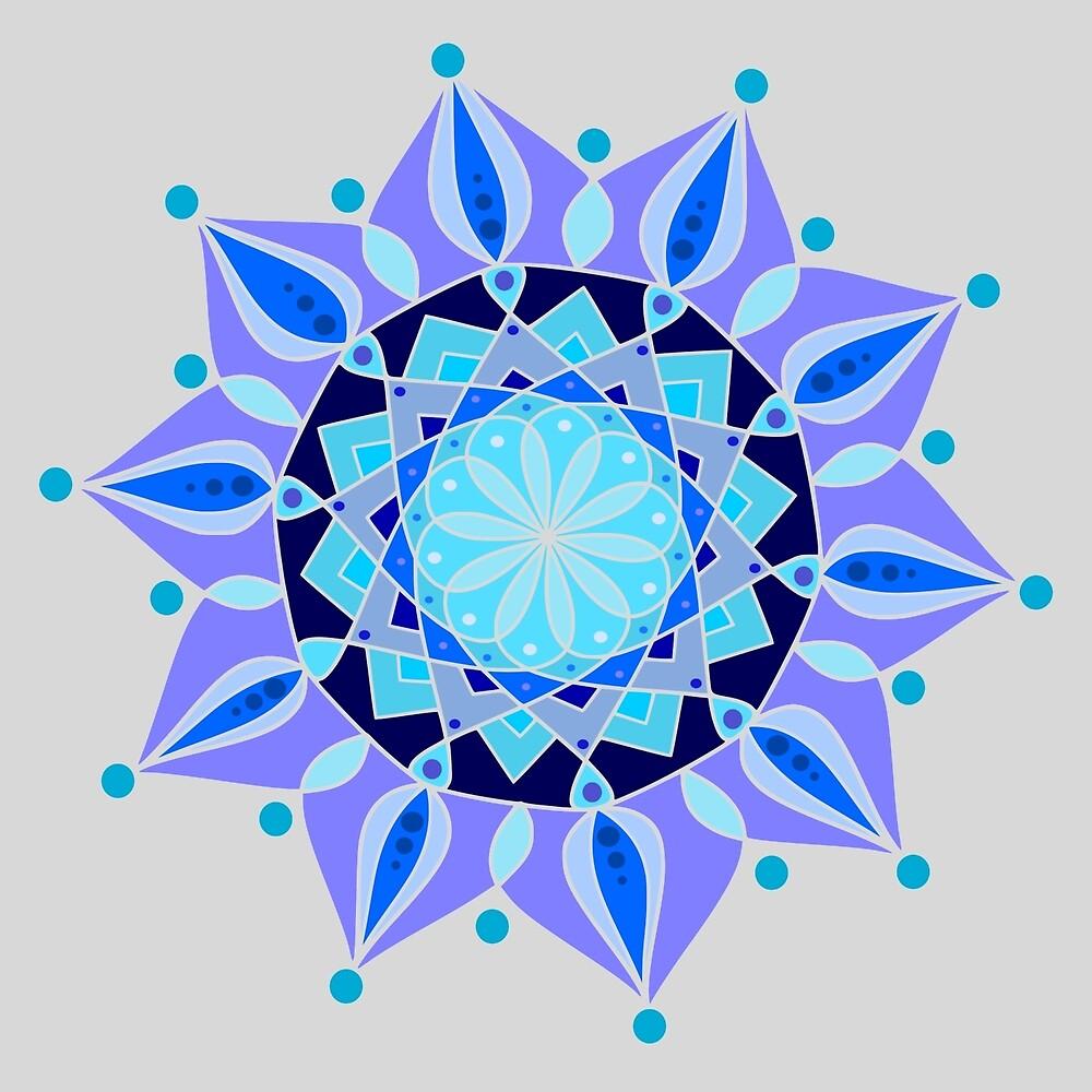 Tones Of Blue by DesireeRobbyn