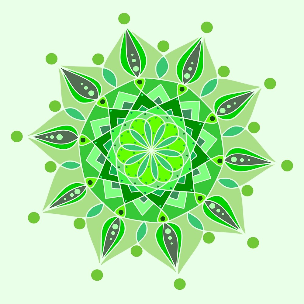 Tones Of Green by DesireeRobbyn