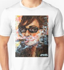 Smoking with specs 4 Unisex T-Shirt