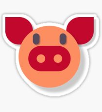 The Most Pure Pig Sticker