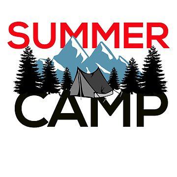 Summer Camp #4 by dianeblocker